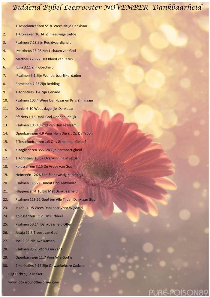 biddend-bijbel-leesrooster-november-dankbaarheid