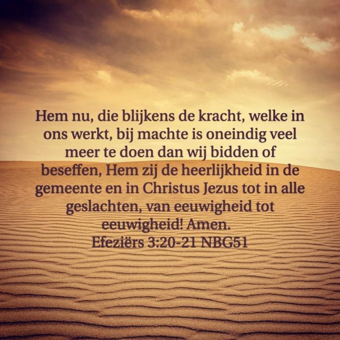 Efeziers 3:20-21