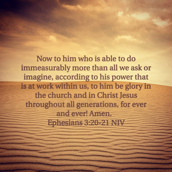 Ephesians 3:20-21