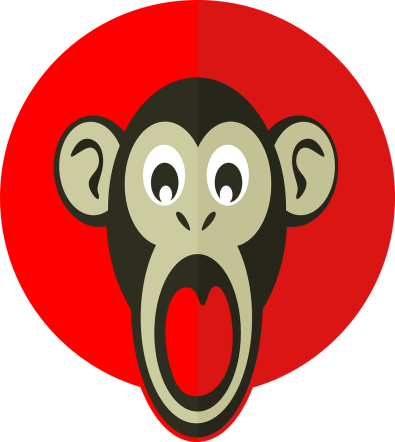 shocking-monkey-1091220_1280
